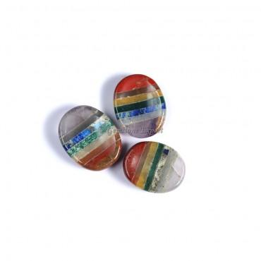 Chakra Bonded Worry Stone oval