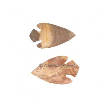Agate Arrowheads Fish Shape