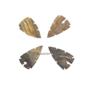 Cross Agate Arrowheads