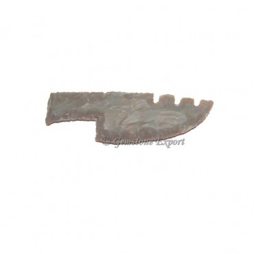 Agate Knife Arrowhead