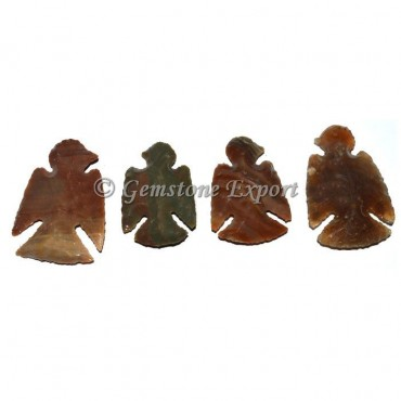 Eagle Shape Agate Arrowheads