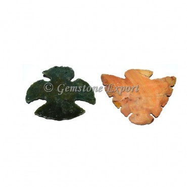 Eagle Fancy Jasper Arrowheads