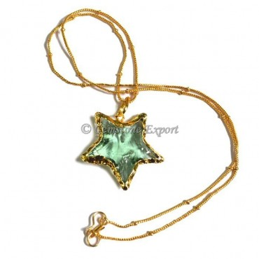 Star Arrowheads Necklace