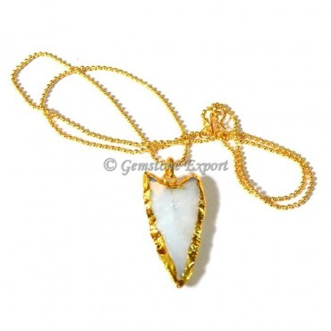 Opalite Point Necklace