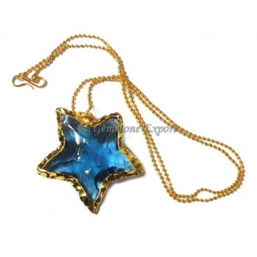 Star Arrowheads Point Necklace
