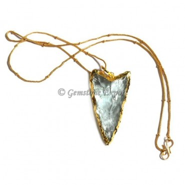 V Shape Arrowhead Necklace