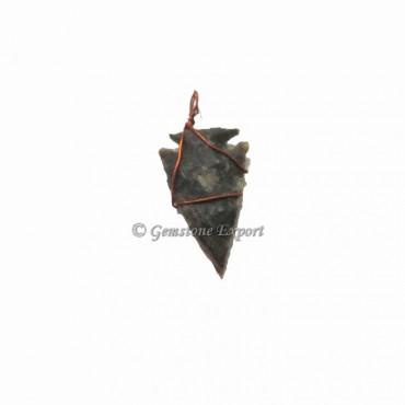 Arrowheads Wrap Pendants