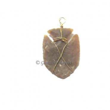 Fish Arrowheads Pendants