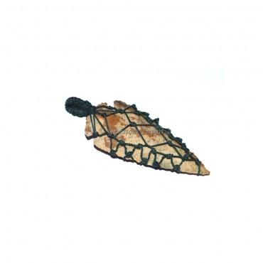 Arrowheads Wrap Pendant