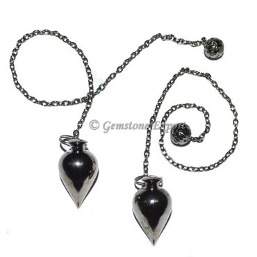 Drop Black Metal Pendulums