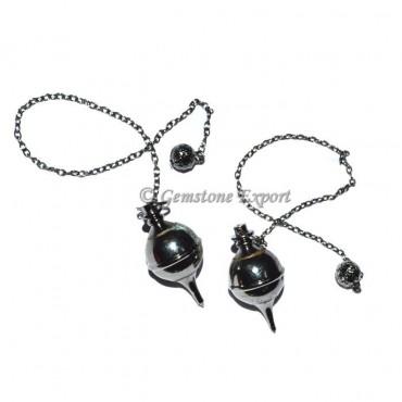 Open able Black metal Pendulums