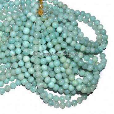 Amazonite Round Beads Line