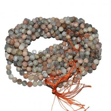 Agate Moon Stone Beads