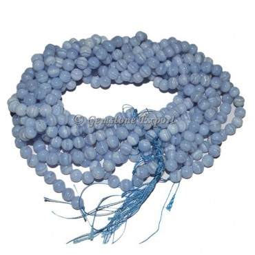 Agate Blue Lace Beads