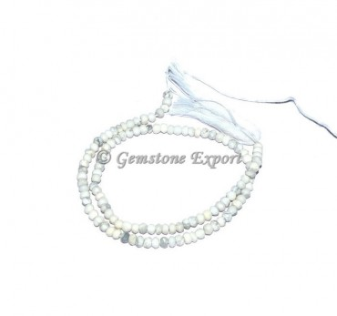 Iolite Faceted Rondelle Gems Beads