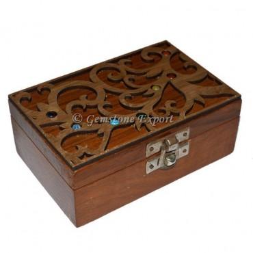 Geometry Sets Chakra Wooden Box
