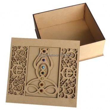 7 Chakra Buddha Wooden Gift Box