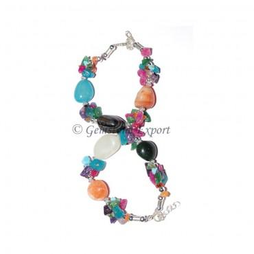 Mix Agate  Bracelet