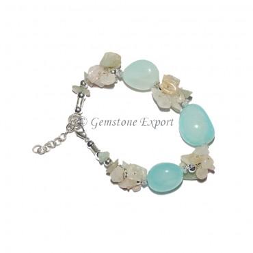 Aqua Onyx Bracelet