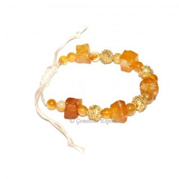 Yellow Onyx Bracelet