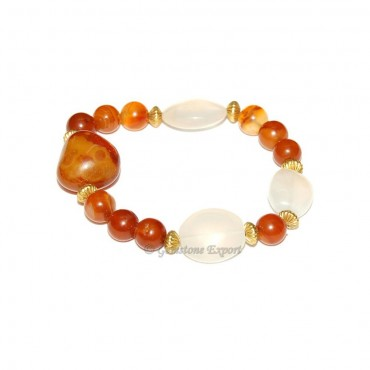 Yellow Onyx Fashion Bracelet