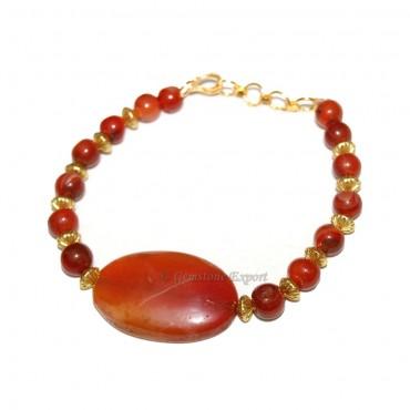 Red Onxy Bracelets