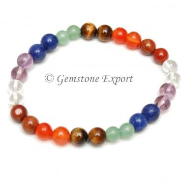 Chakra Stone Bracelets