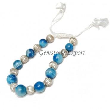 Blue Onyx Bracelets