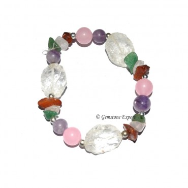Gemstone Hammord Healing Bracelets