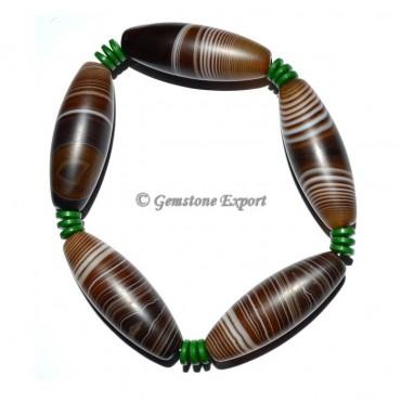 Black Onyx Banded Bracelets