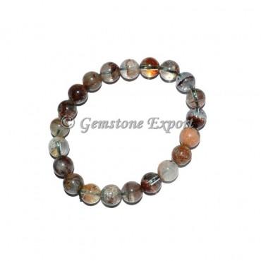 Lhodolite Crystals Bracelets