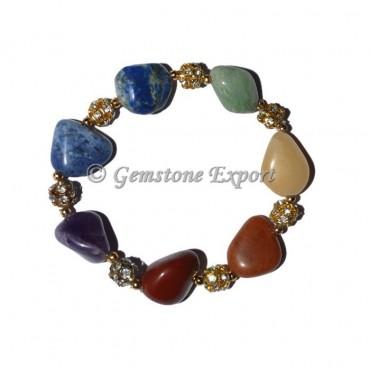 Chakra Tumbled Bracelets