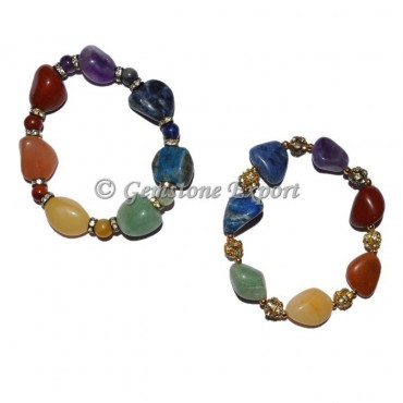 Both Model Chakra Bracelets