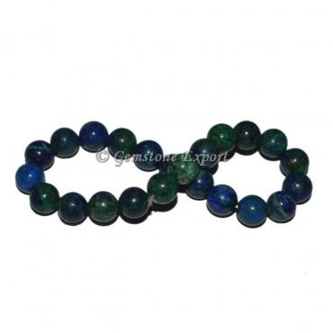 Azurite Chrysocolla Bracelets