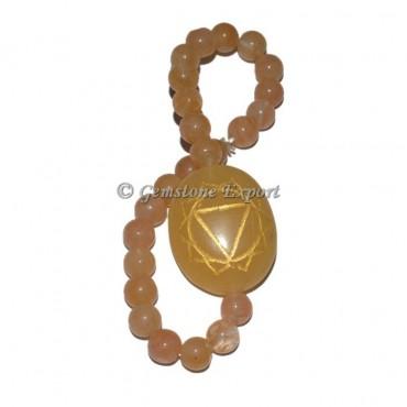 Solar 7 Chakra Engraved Bracelet
