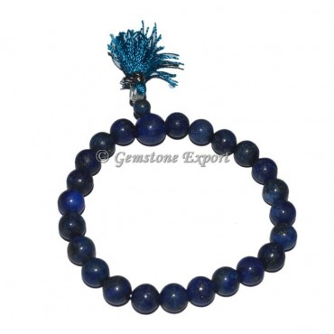 Lapis Lazuli Buddha Seven Chakra Power Bracelet
