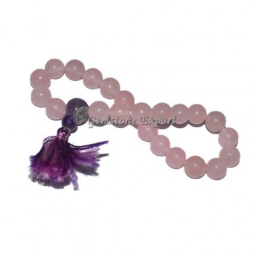 Rose Quartz Power Stone Bracelet