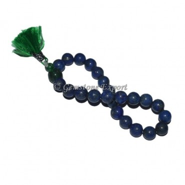 Lapis Lazuli With Power Bead Bracelet
