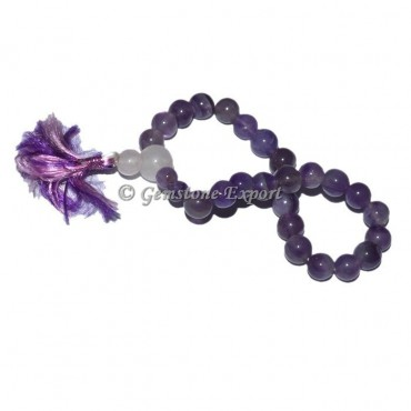 Amethyst With Rose Quartz Power Bracelet