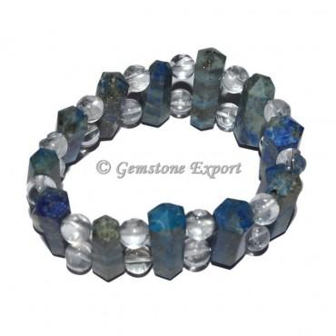 Lapis Lazuli Healing Crystals Acupuncher Bracelet