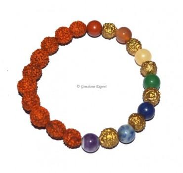 Seven Chakra Yoga Bracelet