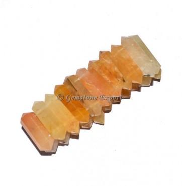 Golden Quartz Cowpuncher Bracelets