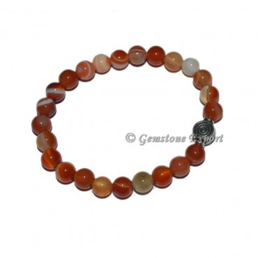 Choko Reiki Charm Red Onyx Bracelets