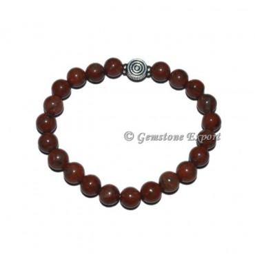Choko Reiki Charm  Red Jasper Bracelets