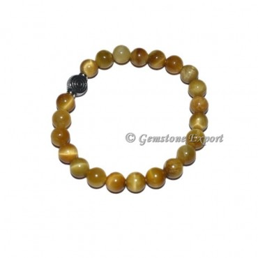ChokoReiki Charm Lemon Tiger Eye Bracelets