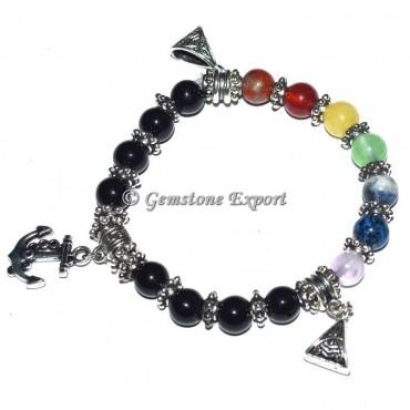 Agate Healing Chakra Stone Bracelets
