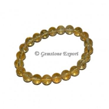 Citrine Gemstone Bracelets