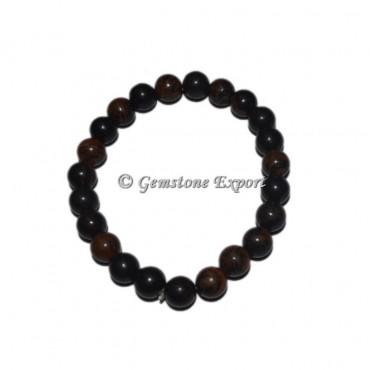 Mahogany Obsidian Gemstone Bracelets