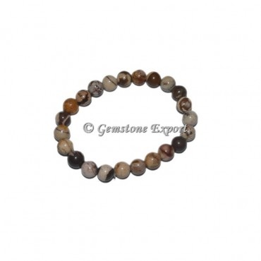Banded Jasper Gemstone Bracelets