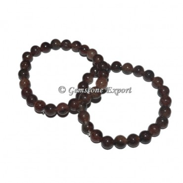 Cherry Quartz Gemstone Bracelets